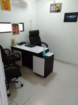 Office For Rent in Noida 1cabin & conference, 12 modular work station