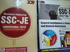 SSC JE previous year question papers Prelims + Mains