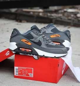 Airmax 90 grey orange