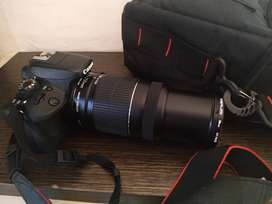 Jual cepat kamera canon EOS100D