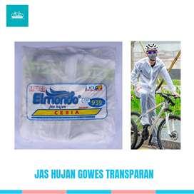 jas hujan olahraga sepeda /gowes
