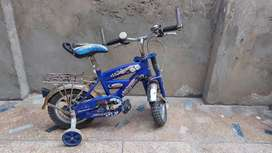 Kids bicycle is available for sale in very good and working conditions