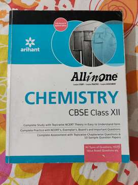 All in one Chemistry cbse class 12