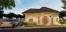 Rumah Modern Masa Kini dekat SPBU Medari (Siap Bangun)