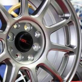 jual velg type hsr wheelZE40 JD5102 HSR Ring.15 Lebar.7 PCD.4X100-4X11