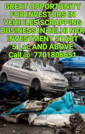 INVESTMENT IN SCRAP BUSINESS IN DELHI NCR