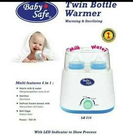 Baby safe sterilizer dan penghangat TWIN - Second