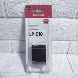 Baterai Canon Battery LP E10 1100D 1200D 1300D 1500D 3000D 4000D