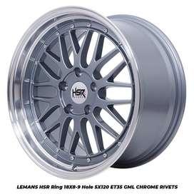 LEMANS HSR R18X8/9 H5X120 ET35 GREY/ML