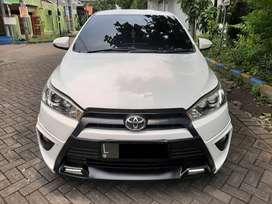 All New Toyota Yaris TRD Sportivo 1.5 warna Putih tahun 2015 Odo. 81rb