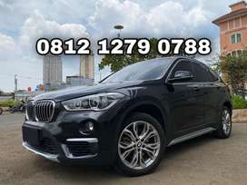 BMW X1 X-Line 2018 Black Panoramic PBD Pano Sunroof Wrnty TDP Ringan !
