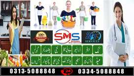 SMS- We Hire All Kinds Professional Male & Female Domestic Staff