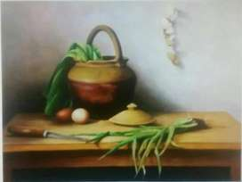 Painting Still Life - Original Handmade
