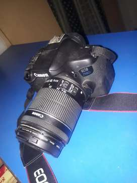 750d canon with 18 55mm