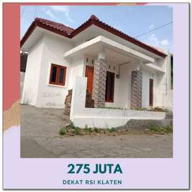 Rumah Murah Dijual di Ceper Klaten Siap Huni Harga 275 Juta