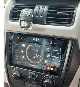 Mahindra xuv 300 Scorpio thar marazzo kuv tuv 10inch BT Android stereo