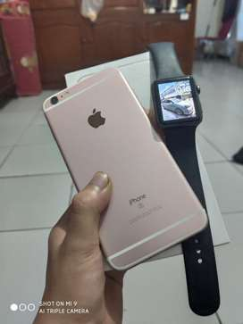 iPhone 6S Plus 64gb Fullset Mulus