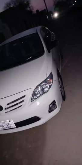 Corolla GLi 2014 model for rent (with driver only )in reasonable price