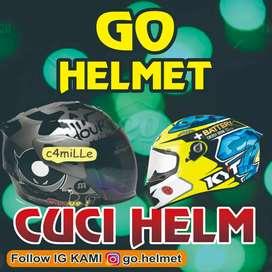 Dicari karyawan cuci helm