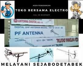 Specialist kantor pasang signal antena tv outdoor jatinegara