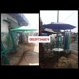 Jual tenda payung dan meja atau kaki (bs antar dimedan)