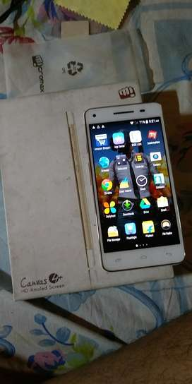 Micromax Canvas 4plus phone in good condition