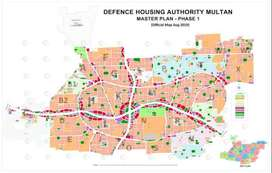 2 Marla Commercial File Available DHA Multan