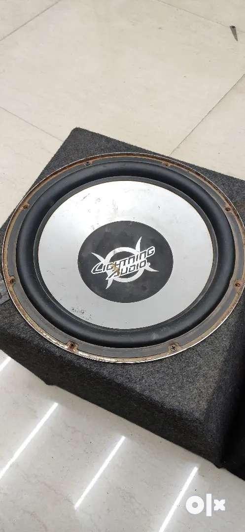 Woofer speaker amplifier
