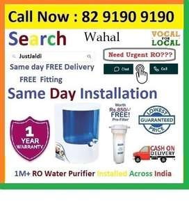 """Wahal Water Purifier RO Water Filter Dolphin  Click to """"Follow""""  Click"""
