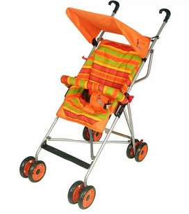 Kid's stroller with canopy