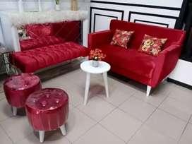 Sofa sofa terbaru bs custom dan request warna