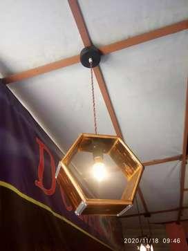 Lampu hias gantung jati londo