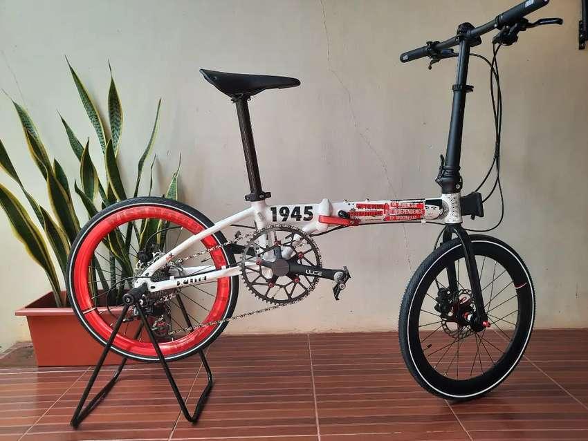 Sepeda Lipat Presiden Jokowi, Damn I Love Indonesia, Limited Edition!