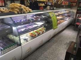 Retail shop counter
