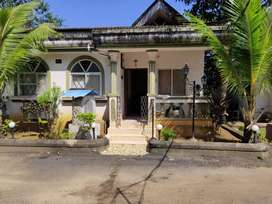 1bhk bunglow for sale in Anjuna with 2 pool clubhouse security c.ct.v