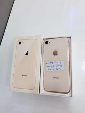 IPHONE 8-64GB FLAWLESS CONDITION WITHOUT USED