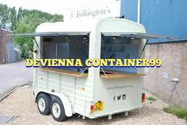 Container booth custom Container cafe Container kedai kopi hits booth,
