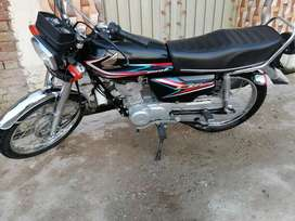 Honda 125 black colour 2019