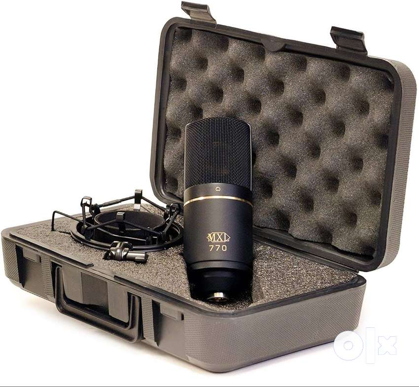 MXL 770 Large Diaphragm Condenser Microphone with Hard case (Brand New 0