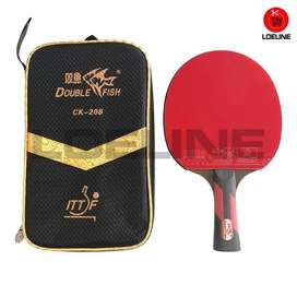 Bad Bat Bet Ping Pong Pingpong Tenis Meja Double Fish CK-208 Original