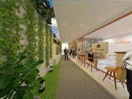 DISEWAKAN Coffee Shop Center, Ruang Usaha, Kantor, Toko, dll uk.4x3m2