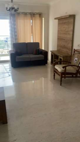 3BHK fully furnished sea facing apartment.