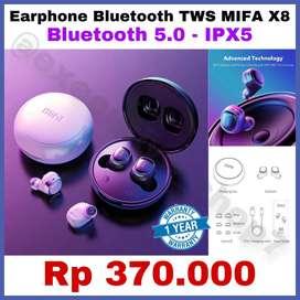ORIGINAL Earphone Bluetooth Xiaomi TWS MIFA X8 - ORIGINAL Bagus Banget