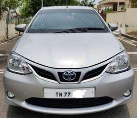 Toyota Etios Liva 2014-2016 VXD, 2015, Diesel