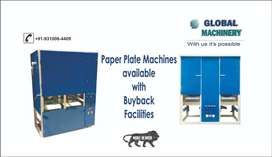 Home based Industry and install paper plate making machinery