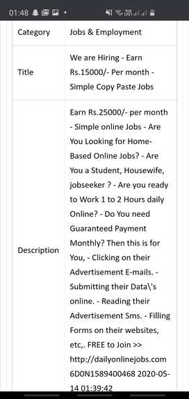 Earn Rs.25000/- per month - Simple online Jobs