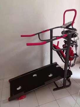 Treadmill manual multy fungsi /004 new