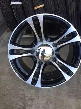 Alloy wheel for jeeps/bolero/mm550/thar