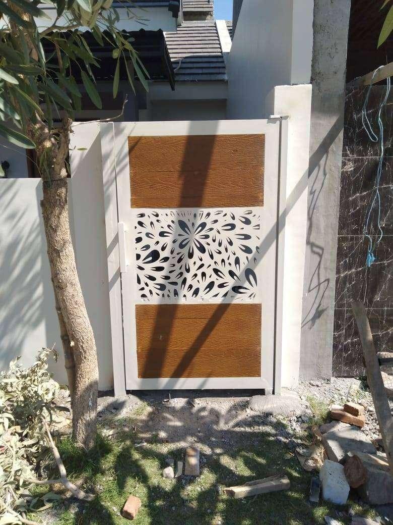 Pagar Sidoarjo pagar motif batik Kombinasi