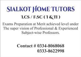 Sialkot Home Tutors